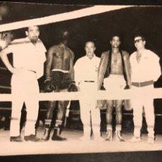 Coleccionismo deportivo: FOTO BOXEADOR.COMBATE DE BOXEO.FOTOS SEVERINO ELCHE.9 SEPTIEMBRE 1967. Lote 183863476