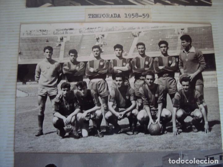 Coleccionismo deportivo: (F-191190)LOTE DE 79 FOTOGRAFIAS CATEGORIAS INFERIORES C.F.BARCELONA - 1956-57 A 1976-77 - Foto 5 - 183922591