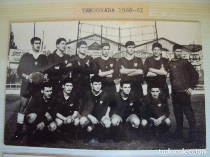 Coleccionismo deportivo: (F-191190)LOTE DE 79 FOTOGRAFIAS CATEGORIAS INFERIORES C.F.BARCELONA - 1956-57 A 1976-77 - Foto 12 - 183922591