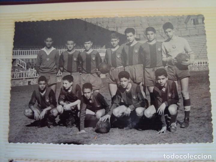 Coleccionismo deportivo: (F-191190)LOTE DE 79 FOTOGRAFIAS CATEGORIAS INFERIORES C.F.BARCELONA - 1956-57 A 1976-77 - Foto 15 - 183922591