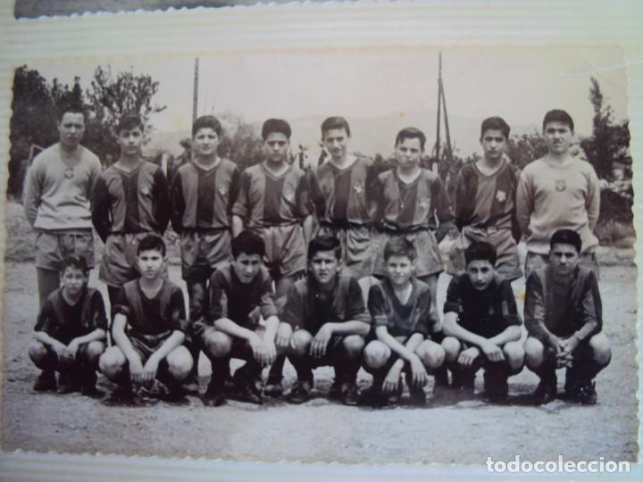 Coleccionismo deportivo: (F-191190)LOTE DE 79 FOTOGRAFIAS CATEGORIAS INFERIORES C.F.BARCELONA - 1956-57 A 1976-77 - Foto 16 - 183922591