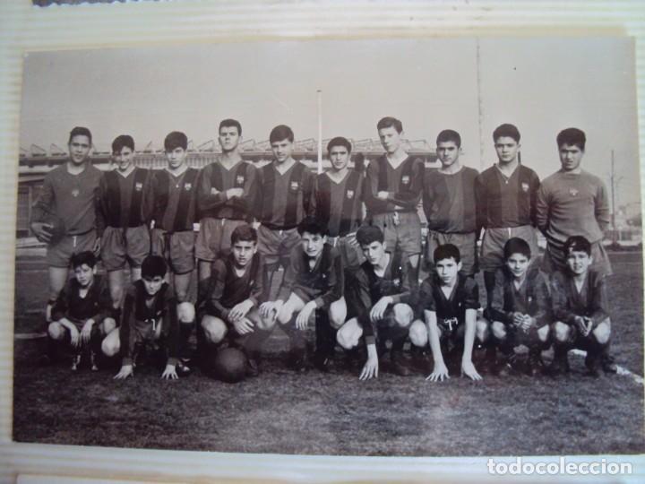 Coleccionismo deportivo: (F-191190)LOTE DE 79 FOTOGRAFIAS CATEGORIAS INFERIORES C.F.BARCELONA - 1956-57 A 1976-77 - Foto 23 - 183922591