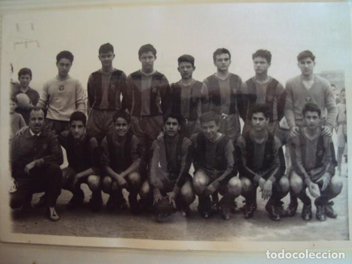 Coleccionismo deportivo: (F-191190)LOTE DE 79 FOTOGRAFIAS CATEGORIAS INFERIORES C.F.BARCELONA - 1956-57 A 1976-77 - Foto 24 - 183922591