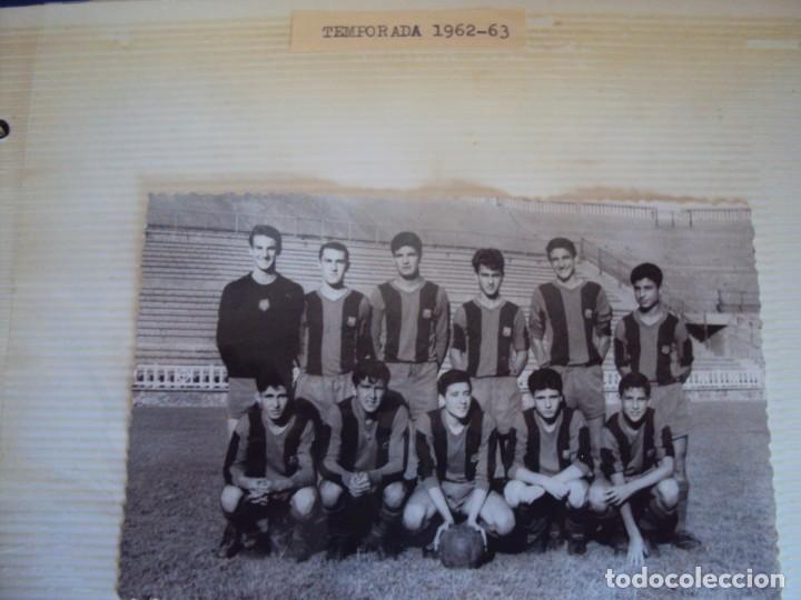 Coleccionismo deportivo: (F-191190)LOTE DE 79 FOTOGRAFIAS CATEGORIAS INFERIORES C.F.BARCELONA - 1956-57 A 1976-77 - Foto 25 - 183922591
