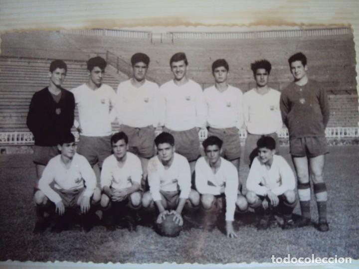 Coleccionismo deportivo: (F-191190)LOTE DE 79 FOTOGRAFIAS CATEGORIAS INFERIORES C.F.BARCELONA - 1956-57 A 1976-77 - Foto 26 - 183922591