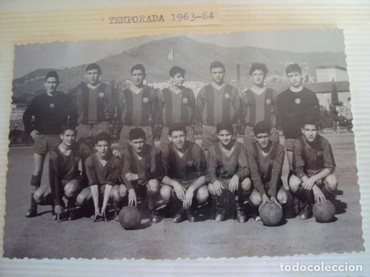 Coleccionismo deportivo: (F-191190)LOTE DE 79 FOTOGRAFIAS CATEGORIAS INFERIORES C.F.BARCELONA - 1956-57 A 1976-77 - Foto 28 - 183922591