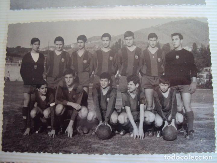 Coleccionismo deportivo: (F-191190)LOTE DE 79 FOTOGRAFIAS CATEGORIAS INFERIORES C.F.BARCELONA - 1956-57 A 1976-77 - Foto 29 - 183922591