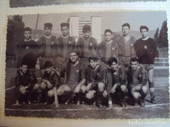 Coleccionismo deportivo: (F-191190)LOTE DE 79 FOTOGRAFIAS CATEGORIAS INFERIORES C.F.BARCELONA - 1956-57 A 1976-77 - Foto 30 - 183922591