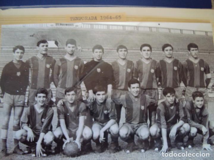 Coleccionismo deportivo: (F-191190)LOTE DE 79 FOTOGRAFIAS CATEGORIAS INFERIORES C.F.BARCELONA - 1956-57 A 1976-77 - Foto 31 - 183922591