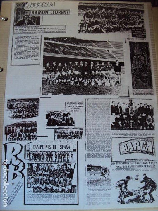 Coleccionismo deportivo: (F-191190)LOTE DE 79 FOTOGRAFIAS CATEGORIAS INFERIORES C.F.BARCELONA - 1956-57 A 1976-77 - Foto 34 - 183922591