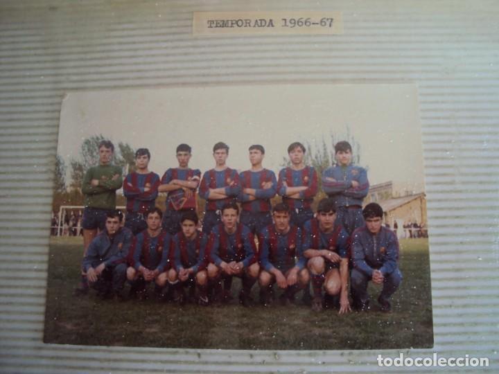 Coleccionismo deportivo: (F-191190)LOTE DE 79 FOTOGRAFIAS CATEGORIAS INFERIORES C.F.BARCELONA - 1956-57 A 1976-77 - Foto 35 - 183922591