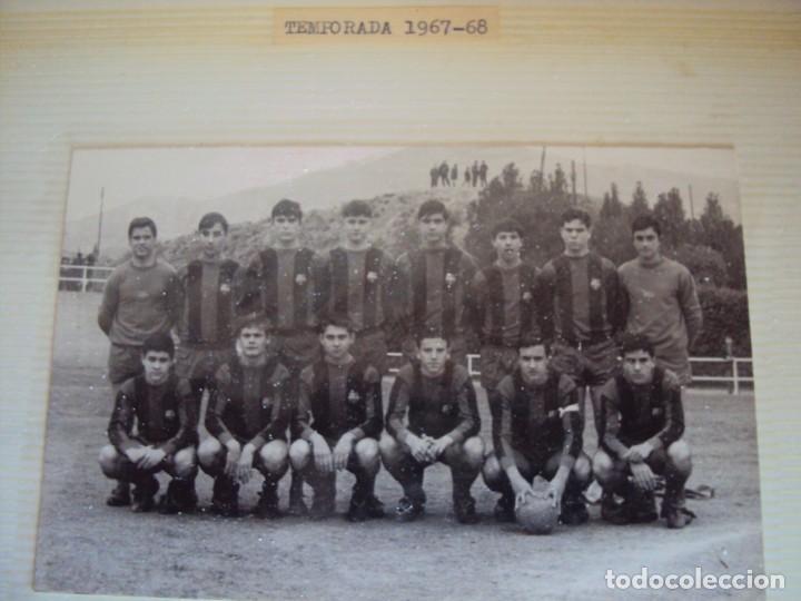 Coleccionismo deportivo: (F-191190)LOTE DE 79 FOTOGRAFIAS CATEGORIAS INFERIORES C.F.BARCELONA - 1956-57 A 1976-77 - Foto 37 - 183922591