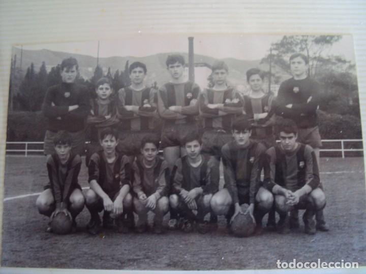 Coleccionismo deportivo: (F-191190)LOTE DE 79 FOTOGRAFIAS CATEGORIAS INFERIORES C.F.BARCELONA - 1956-57 A 1976-77 - Foto 39 - 183922591