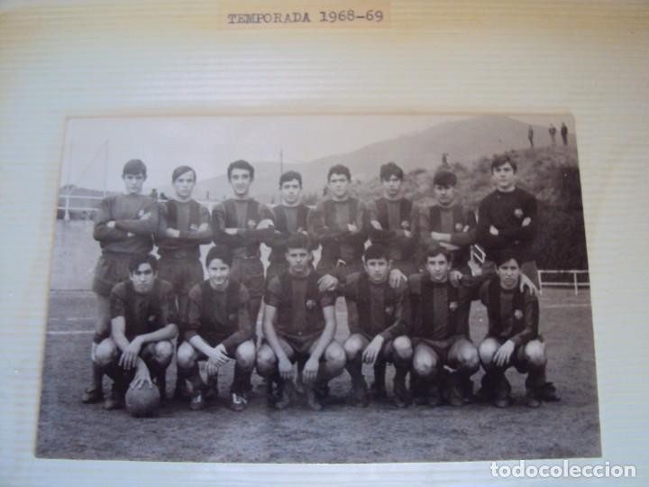 Coleccionismo deportivo: (F-191190)LOTE DE 79 FOTOGRAFIAS CATEGORIAS INFERIORES C.F.BARCELONA - 1956-57 A 1976-77 - Foto 41 - 183922591