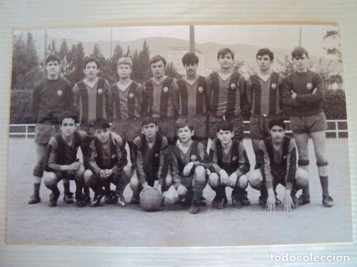 Coleccionismo deportivo: (F-191190)LOTE DE 79 FOTOGRAFIAS CATEGORIAS INFERIORES C.F.BARCELONA - 1956-57 A 1976-77 - Foto 42 - 183922591