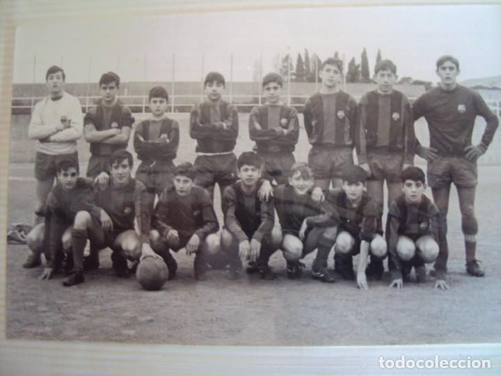 Coleccionismo deportivo: (F-191190)LOTE DE 79 FOTOGRAFIAS CATEGORIAS INFERIORES C.F.BARCELONA - 1956-57 A 1976-77 - Foto 44 - 183922591