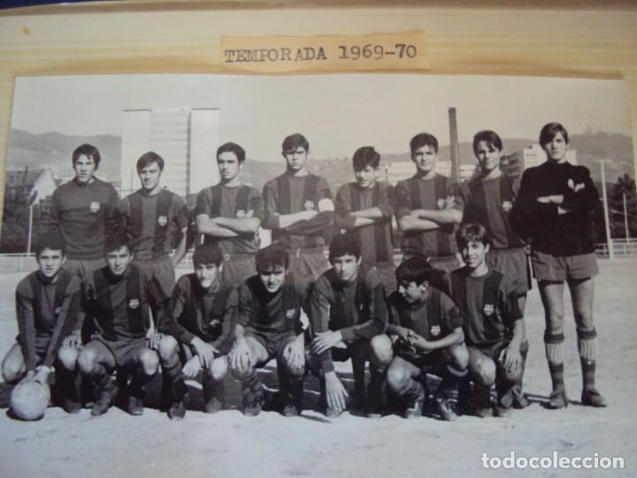 Coleccionismo deportivo: (F-191190)LOTE DE 79 FOTOGRAFIAS CATEGORIAS INFERIORES C.F.BARCELONA - 1956-57 A 1976-77 - Foto 45 - 183922591