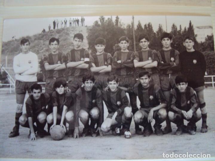 Coleccionismo deportivo: (F-191190)LOTE DE 79 FOTOGRAFIAS CATEGORIAS INFERIORES C.F.BARCELONA - 1956-57 A 1976-77 - Foto 46 - 183922591