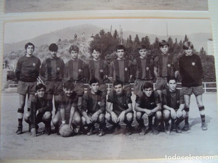 Coleccionismo deportivo: (F-191190)LOTE DE 79 FOTOGRAFIAS CATEGORIAS INFERIORES C.F.BARCELONA - 1956-57 A 1976-77 - Foto 47 - 183922591