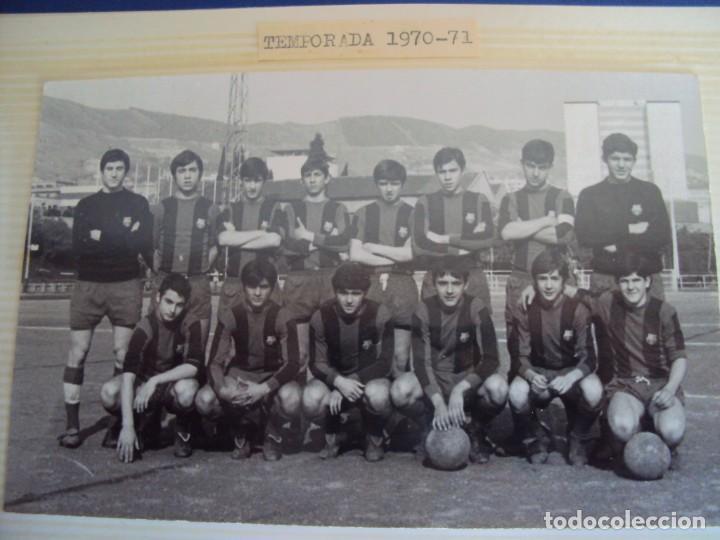 Coleccionismo deportivo: (F-191190)LOTE DE 79 FOTOGRAFIAS CATEGORIAS INFERIORES C.F.BARCELONA - 1956-57 A 1976-77 - Foto 48 - 183922591