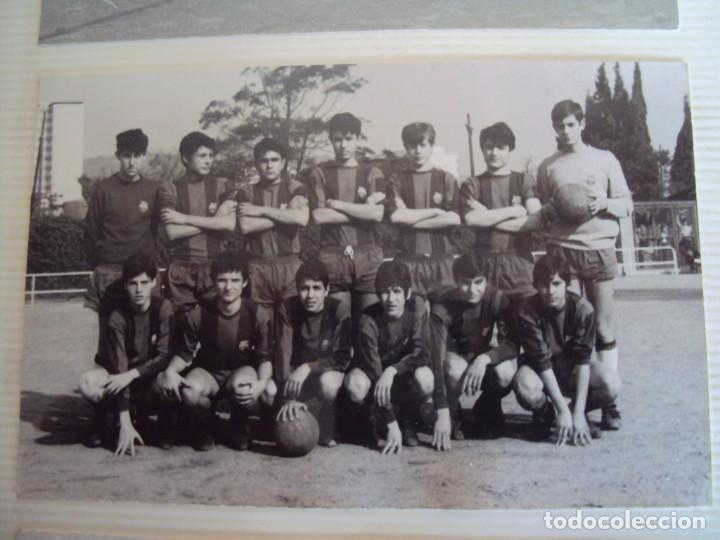 Coleccionismo deportivo: (F-191190)LOTE DE 79 FOTOGRAFIAS CATEGORIAS INFERIORES C.F.BARCELONA - 1956-57 A 1976-77 - Foto 49 - 183922591