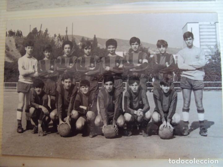 Coleccionismo deportivo: (F-191190)LOTE DE 79 FOTOGRAFIAS CATEGORIAS INFERIORES C.F.BARCELONA - 1956-57 A 1976-77 - Foto 50 - 183922591