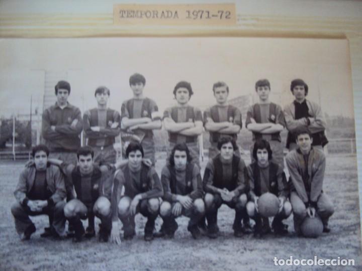 Coleccionismo deportivo: (F-191190)LOTE DE 79 FOTOGRAFIAS CATEGORIAS INFERIORES C.F.BARCELONA - 1956-57 A 1976-77 - Foto 51 - 183922591
