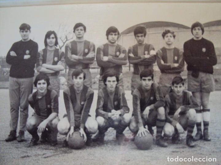 Coleccionismo deportivo: (F-191190)LOTE DE 79 FOTOGRAFIAS CATEGORIAS INFERIORES C.F.BARCELONA - 1956-57 A 1976-77 - Foto 53 - 183922591