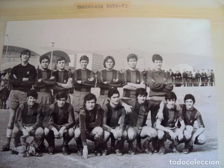 Coleccionismo deportivo: (F-191190)LOTE DE 79 FOTOGRAFIAS CATEGORIAS INFERIORES C.F.BARCELONA - 1956-57 A 1976-77 - Foto 54 - 183922591