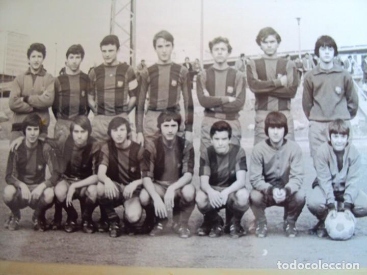 Coleccionismo deportivo: (F-191190)LOTE DE 79 FOTOGRAFIAS CATEGORIAS INFERIORES C.F.BARCELONA - 1956-57 A 1976-77 - Foto 55 - 183922591
