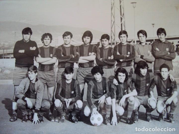 Coleccionismo deportivo: (F-191190)LOTE DE 79 FOTOGRAFIAS CATEGORIAS INFERIORES C.F.BARCELONA - 1956-57 A 1976-77 - Foto 56 - 183922591