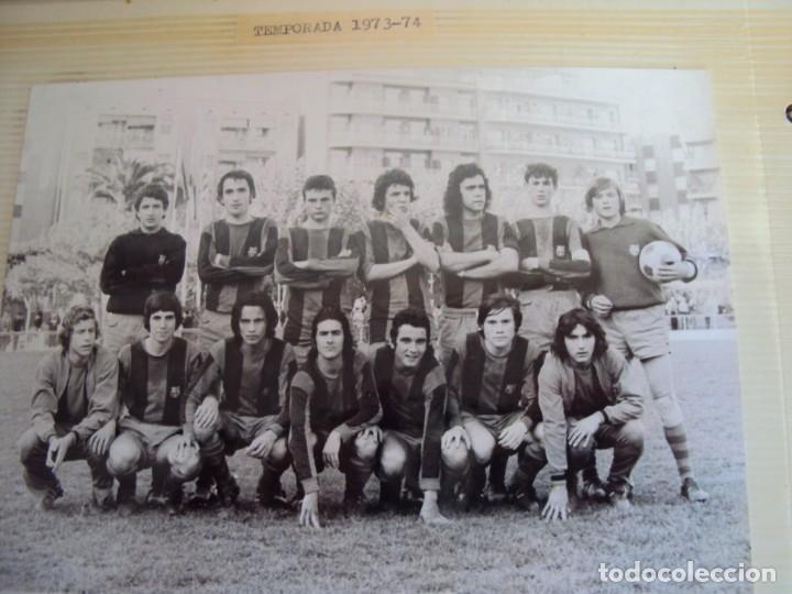 Coleccionismo deportivo: (F-191190)LOTE DE 79 FOTOGRAFIAS CATEGORIAS INFERIORES C.F.BARCELONA - 1956-57 A 1976-77 - Foto 57 - 183922591