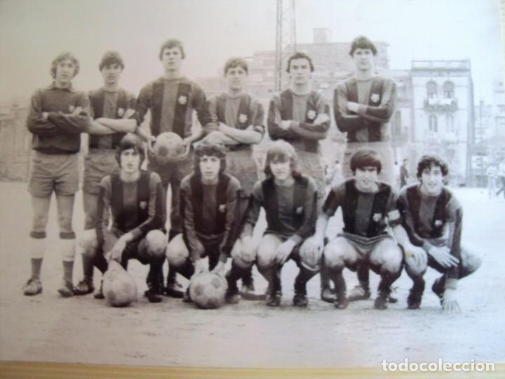Coleccionismo deportivo: (F-191190)LOTE DE 79 FOTOGRAFIAS CATEGORIAS INFERIORES C.F.BARCELONA - 1956-57 A 1976-77 - Foto 58 - 183922591