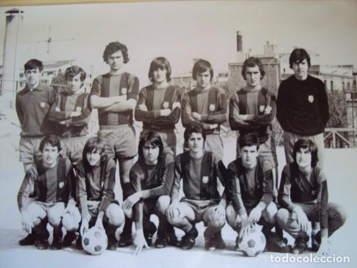 Coleccionismo deportivo: (F-191190)LOTE DE 79 FOTOGRAFIAS CATEGORIAS INFERIORES C.F.BARCELONA - 1956-57 A 1976-77 - Foto 59 - 183922591