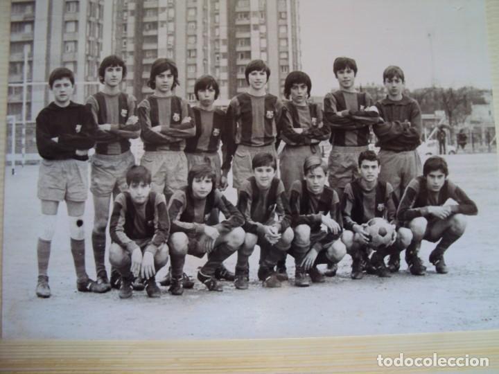 Coleccionismo deportivo: (F-191190)LOTE DE 79 FOTOGRAFIAS CATEGORIAS INFERIORES C.F.BARCELONA - 1956-57 A 1976-77 - Foto 60 - 183922591