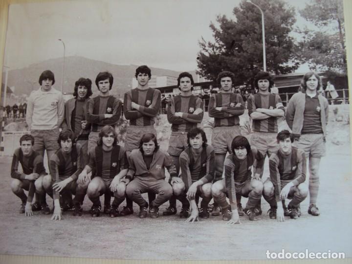 Coleccionismo deportivo: (F-191190)LOTE DE 79 FOTOGRAFIAS CATEGORIAS INFERIORES C.F.BARCELONA - 1956-57 A 1976-77 - Foto 61 - 183922591