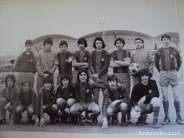 Coleccionismo deportivo: (F-191190)LOTE DE 79 FOTOGRAFIAS CATEGORIAS INFERIORES C.F.BARCELONA - 1956-57 A 1976-77 - Foto 62 - 183922591