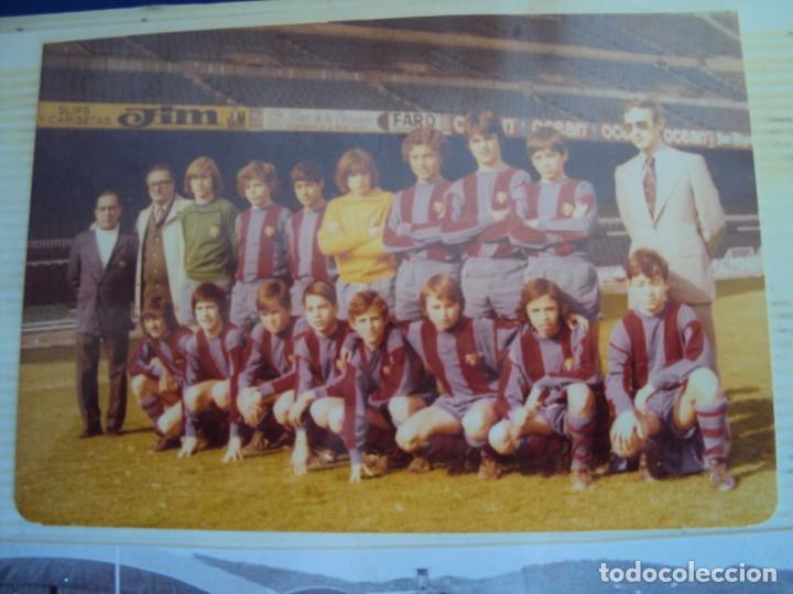 Coleccionismo deportivo: (F-191190)LOTE DE 79 FOTOGRAFIAS CATEGORIAS INFERIORES C.F.BARCELONA - 1956-57 A 1976-77 - Foto 63 - 183922591