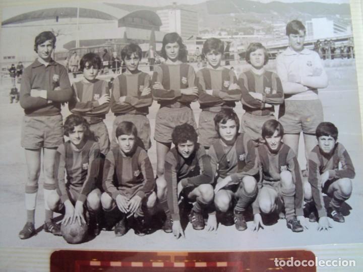 Coleccionismo deportivo: (F-191190)LOTE DE 79 FOTOGRAFIAS CATEGORIAS INFERIORES C.F.BARCELONA - 1956-57 A 1976-77 - Foto 64 - 183922591