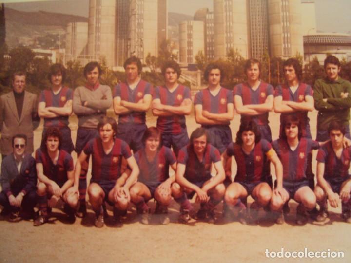 Coleccionismo deportivo: (F-191190)LOTE DE 79 FOTOGRAFIAS CATEGORIAS INFERIORES C.F.BARCELONA - 1956-57 A 1976-77 - Foto 69 - 183922591