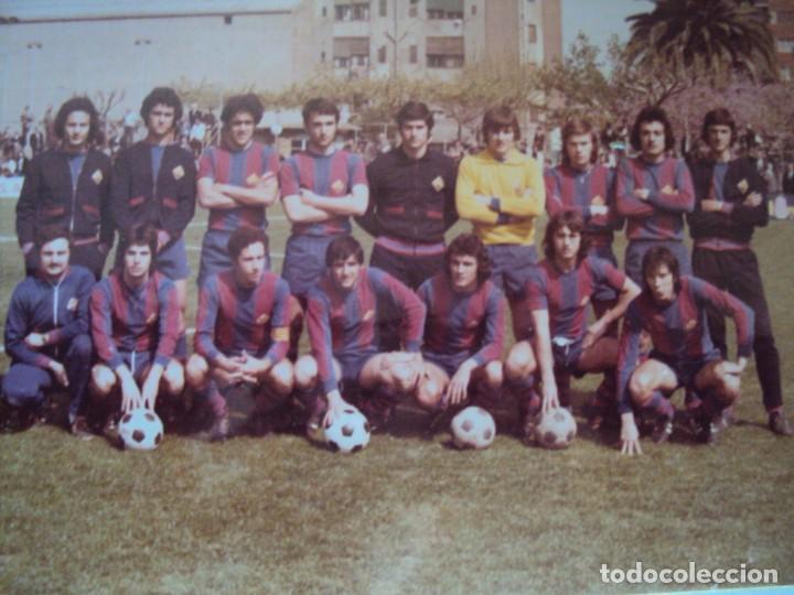 Coleccionismo deportivo: (F-191190)LOTE DE 79 FOTOGRAFIAS CATEGORIAS INFERIORES C.F.BARCELONA - 1956-57 A 1976-77 - Foto 71 - 183922591