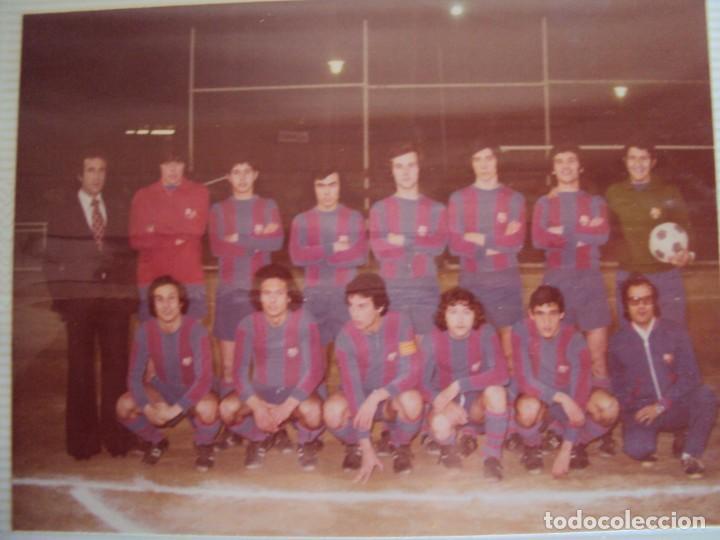 Coleccionismo deportivo: (F-191190)LOTE DE 79 FOTOGRAFIAS CATEGORIAS INFERIORES C.F.BARCELONA - 1956-57 A 1976-77 - Foto 72 - 183922591