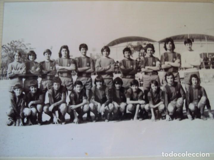 Coleccionismo deportivo: (F-191190)LOTE DE 79 FOTOGRAFIAS CATEGORIAS INFERIORES C.F.BARCELONA - 1956-57 A 1976-77 - Foto 74 - 183922591