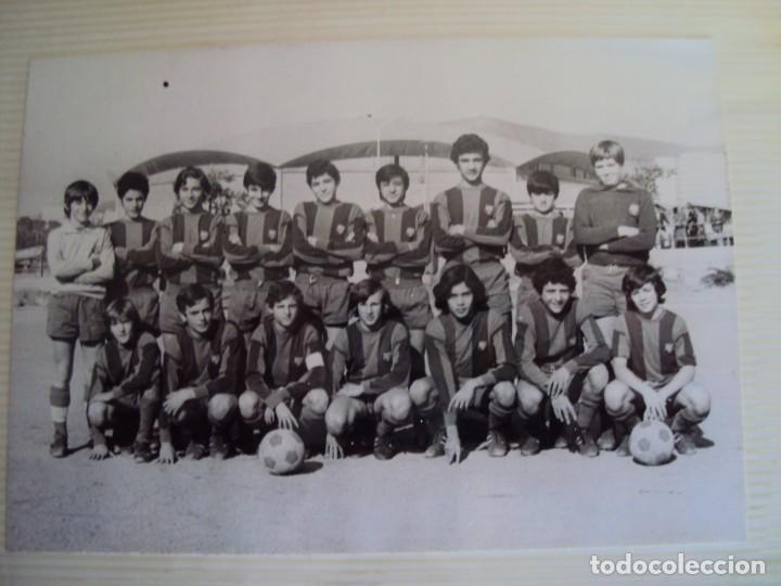 Coleccionismo deportivo: (F-191190)LOTE DE 79 FOTOGRAFIAS CATEGORIAS INFERIORES C.F.BARCELONA - 1956-57 A 1976-77 - Foto 75 - 183922591