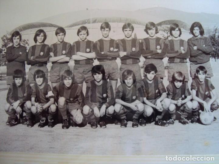 Coleccionismo deportivo: (F-191190)LOTE DE 79 FOTOGRAFIAS CATEGORIAS INFERIORES C.F.BARCELONA - 1956-57 A 1976-77 - Foto 76 - 183922591