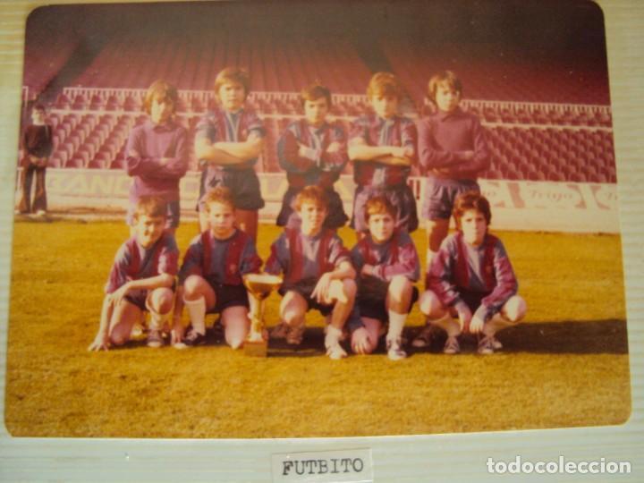Coleccionismo deportivo: (F-191190)LOTE DE 79 FOTOGRAFIAS CATEGORIAS INFERIORES C.F.BARCELONA - 1956-57 A 1976-77 - Foto 77 - 183922591