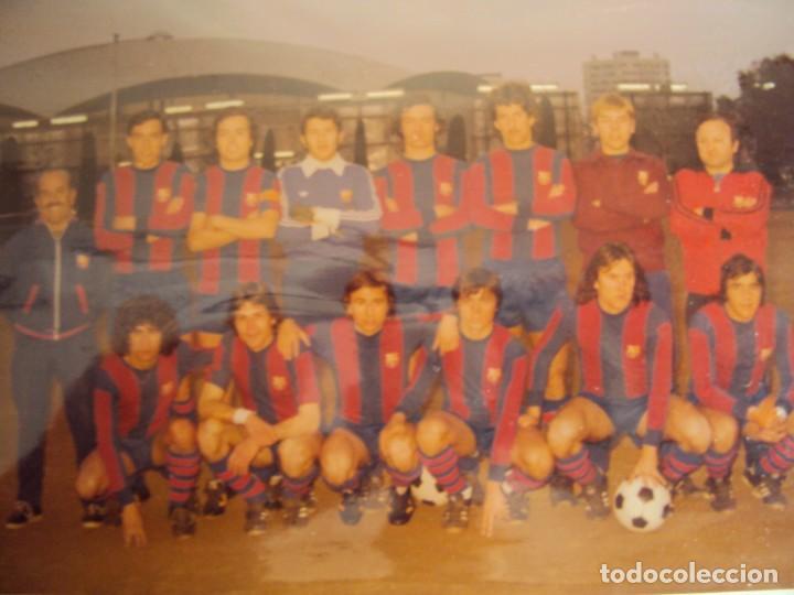 Coleccionismo deportivo: (F-191190)LOTE DE 79 FOTOGRAFIAS CATEGORIAS INFERIORES C.F.BARCELONA - 1956-57 A 1976-77 - Foto 79 - 183922591