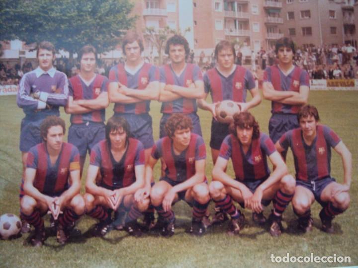 Coleccionismo deportivo: (F-191190)LOTE DE 79 FOTOGRAFIAS CATEGORIAS INFERIORES C.F.BARCELONA - 1956-57 A 1976-77 - Foto 80 - 183922591