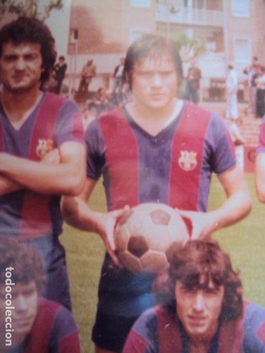 Coleccionismo deportivo: (F-191190)LOTE DE 79 FOTOGRAFIAS CATEGORIAS INFERIORES C.F.BARCELONA - 1956-57 A 1976-77 - Foto 82 - 183922591