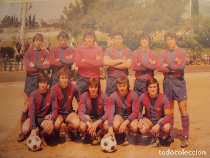 Coleccionismo deportivo: (F-191190)LOTE DE 79 FOTOGRAFIAS CATEGORIAS INFERIORES C.F.BARCELONA - 1956-57 A 1976-77 - Foto 84 - 183922591